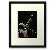 The wonderful Jimmy Cliff 9 (c)(h) by expressive photos ! Olao-Olavia by Okaio Créations  Framed Print
