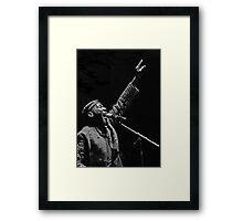 The wonderful Jimmy Cliff 9 (n&b)(h) by expressive photos ! Olao-Olavia by Okaio Créations  Framed Print