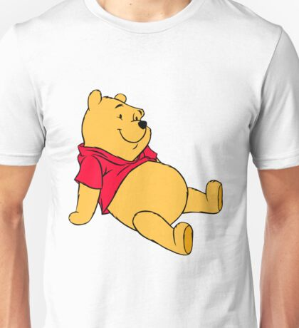 P00h sitted!  Unisex T-Shirt
