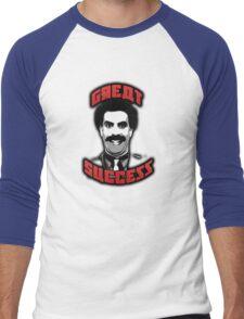 Borat - Great Success Men's Baseball ¾ T-Shirt