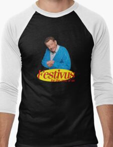 Frank Costanza - Festivus for the rest of us Men's Baseball ¾ T-Shirt