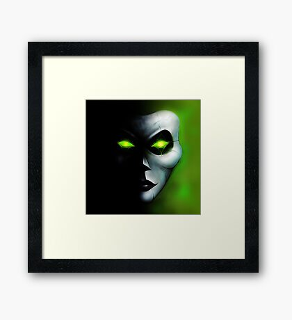 The Wight Jester Framed Print