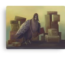 Messenger-pigeon Canvas Print