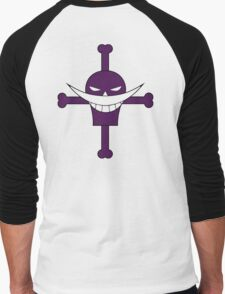 Ace Whitebeard Pirate Tattoo Men's Baseball ¾ T-Shirt