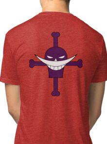 Ace Whitebeard Pirate Tattoo Tri-blend T-Shirt