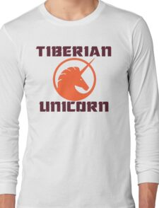 tiberian unicorn Long Sleeve T-Shirt