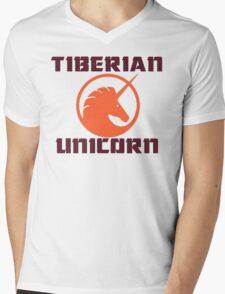 tiberian unicorn Mens V-Neck T-Shirt