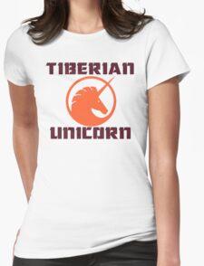 tiberian unicorn Womens Fitted T-Shirt