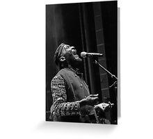 The wonderful Jimmy Cliff 10 (n&b)(h) by expressive photos ! Olao-Olavia by Okaio Créations  Greeting Card