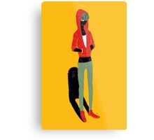100 Days. Guy with low rise jeans. Metal Print