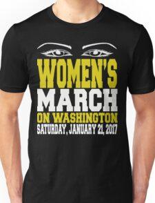 Womens March on Washington / Million Women March Collection Unisex T-Shirt