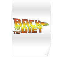 Back to the diet Poster