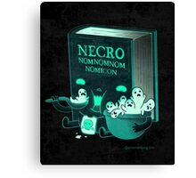 Necronomnomnomnomicon Canvas Print