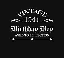 Vintage 1941 Birthday Boy Aged To Perfection Unisex T-Shirt