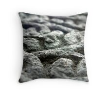 With A Hammer And Chisel I create Throw Pillow
