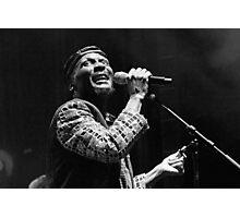 The wonderful Jimmy Cliff 11 (n&b)(t) by expressive photos ! Olao-Olavia by Okaio Créations  Photographic Print