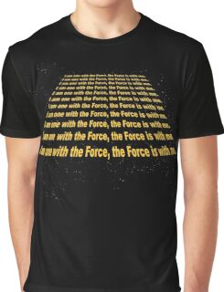 The Force is with me Graphic T-Shirt