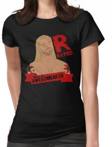 Rated R Womens Fitted T-Shirt