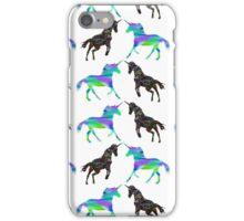 Unicorn patterns iPhone Case/Skin