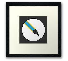 Faster Than Luna (Explore) Framed Print