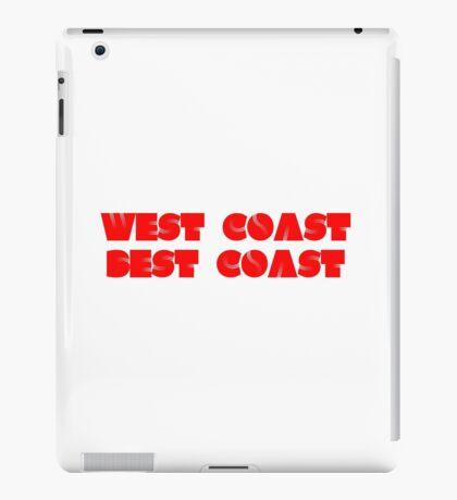 West Coast Best Coast iPad Case/Skin
