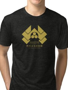 Nakatomi Corporation - Gold Variant Tri-blend T-Shirt