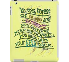 Win your SELF back! iPad Case/Skin