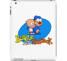 Bubble and Squeak - SEGA Genesis Title Screen iPad Case/Skin