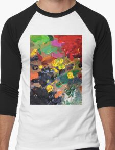 palette Men's Baseball ¾ T-Shirt