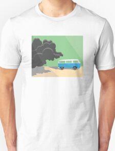 Dharma Van vs Smoke Monster T-Shirt