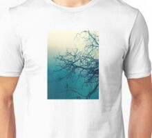 Tree in fog at Cataract Gorge Launceston Tasmania Unisex T-Shirt