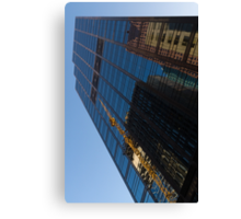Reflecting on Skyscrapers - Downtown Affection Canvas Print