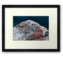 The Dying Fire Framed Print