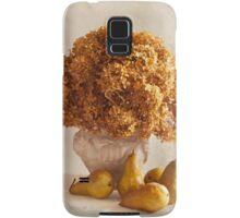 Dried Hydrangeas And Pears Still Life  Samsung Galaxy Case/Skin