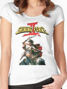 Shining Force 2 Women's Fitted Scoop T-Shirt