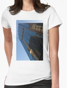 Reflecting on Skyscrapers - Downtown Affection Womens Fitted T-Shirt