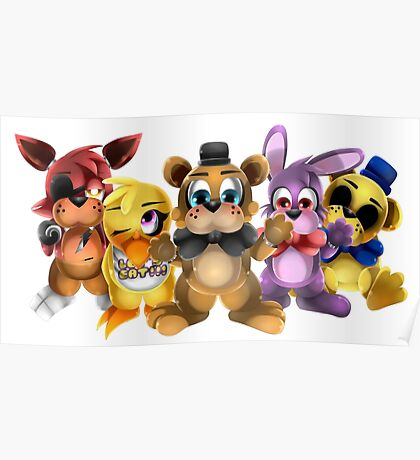 Five Nights of Kawaii Poster