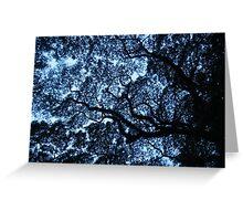 Fractal tree Greeting Card