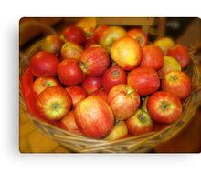 Apple Of My Eye Canvas Print