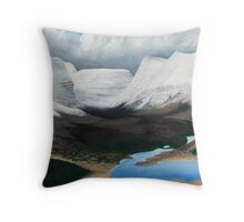 Torridon - after the snowstorm Throw Pillow