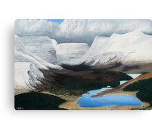 Torridon - after the snowstorm Canvas Print
