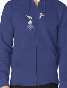 Monument Valley App Zipped Hoodie
