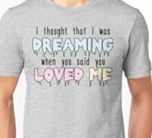 """Frank Ocean """"Ivy"""" Lyrics Unisex T-Shirt"""