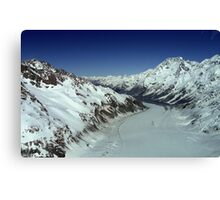 In the Hall of the Mountain King- Top of the Tasman Canvas Print