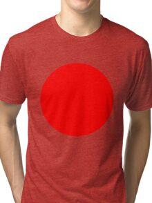 Living Japanese Flag Tri-blend T-Shirt