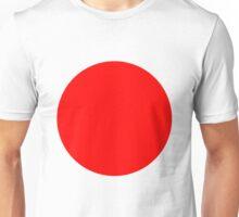 Living Japanese Flag Unisex T-Shirt