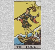 Tarot- The Fool by cadellin