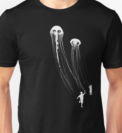 Flying Jellyfish Unisex T-Shirt