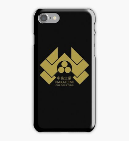 Nakatomi Corporation - Gold Alternate iPhone Case/Skin