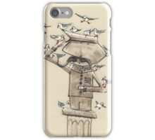 The hero honoured by the local birdlife iPhone Case/Skin